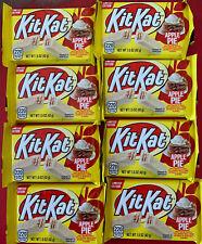 8 Kit Kat Apple Pie White Creme Chocolate Crisp Wafers LIMITED EDITION 1.5 OZ