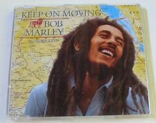 BOB MARLEY & THE WAILERS (Maxi CD 4 tracks JEWEL CASE)  KEEP ON MOVING