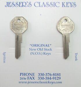 Vintage NOS Briggs & Stratton Original Key Set B&S GV-15 NASH 1935 1936 1937