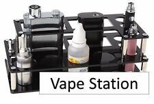 Vape Station Acrylic 3 Layer 13 Hole Display Vapor Stand Atomize Mod e Pen
