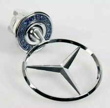 MERCEDES BENZ BONNET HOOD LOGO EMBLEM BADGE For W124 W202 W203 W208 W210 / 44MM
