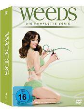 WEEDS 1-8 DIE KOMPLETTE SERIE SEASON STAFFEL 1 2 3 4 5 6 7 8 DVD DEUTSCH