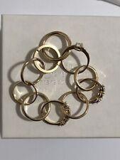 Rare Vtg Maison Martin Margiela Gold Ring Bracelet Artisanal Line 11