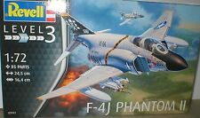 F-4J PHANTOM II USN Weapons,PILOTS,Sensors & Tanks REVELL 1/72 KIT,