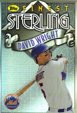 "2014  TOPPS    ""FINEST""   STERLING  #TS-DW  DAVID WRIGHT"