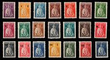 1929 Portugal Madeira Ceres Complete MNH OG Set Af#41/61