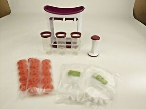 Infantino Fresh Squeezed Squeeze Station Baby Food Maker & 20 Pouches