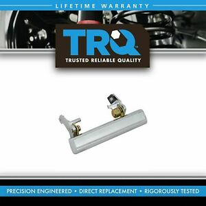 TRQ Door Handle Outside Exterior Driver Side LH Left for Chevy GMC Pontiac Buick