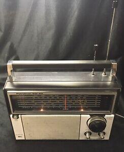 Realistic Patrolman SW-60 6 Band AM FM SW VHF Radio Vintage Model 12-779A Works