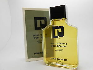Paco Rabanne Pour Homme 75ml After Shave splash, X4 Bottles