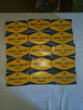 Cornell-Dubilier Vintage Capacitors. Lot of 150  20-20 MFD 150v.  BVR 2215.
