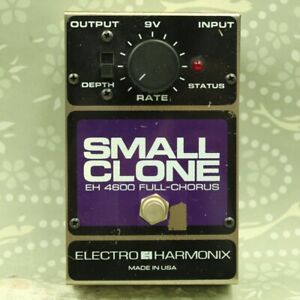 Electro-Harmonix EHX Small Clone Chorus Guitar Effect Pedal