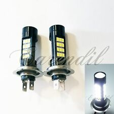 H7 Samsung Chip 42 SMD Canbus LED White Headlight #c15 Bulb High Low Beam Bike