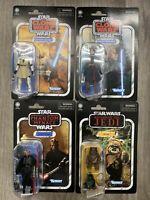 Star Wars Vintage Collection Lot of 4 Obi-Wan Kenobi Anakin Wicket Darth Maul