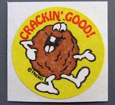 Vintage TREND Stinky Stickers WALNUT matte Scratch-N-Sniff sticker