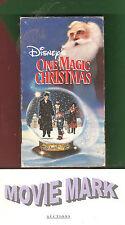 ONE MAGIC CHRISTMAS '85 Walt Disney Home Video Mary Steenburgen vhs ☆BOTW☆ BONUS