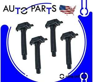 4 IGNITION COILS for CHRYSLER 200 DODGE DART JEEP CHEROKEE 2014-20 COMPASS 2.4L