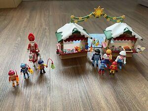 Playmobil Weihnachtsmarkt 5587 Inkl. Laternenumzug 5593