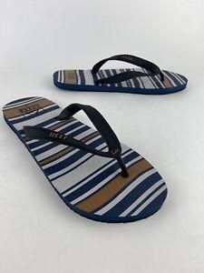 NEW Reef Men's Switchfoot Prints Surfer Flip Flops Beach Sandals Size 9