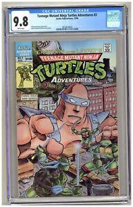 Teenage Mutant Ninja Turtles Adventures #3 (CGC 9.8) Mini-series; 1988 B259