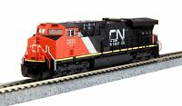 KATO 1768927 N Scale GE ES44AC Canadian National (CN) #2825 - New - 176-8927