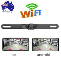 Car Wireless WiFi Reverse Camera Rear View Backup Camera For iPhone Android IOS