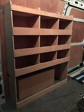 Nissan NV400 MWB Plywood Van Shelving Racking System Tool Storage Unit NS