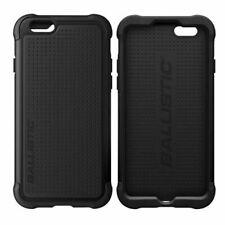 GENUINE Ballistic ShockProof Tough Jacket Case Cover Black For iPhone 6S / 6