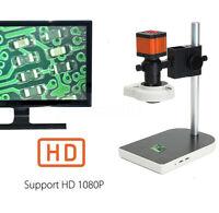 16MP 1080P 60FPS HDMI USB FHD Lab Industrial C-mount Microscope Digital