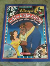 DISNEY'S ART OF ANIMATION: From Mickey Mouse to Beauty And The Beast- Bob Thomas