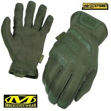 Guanti MECHANIX Fast Fit Tactical Gloves MFF Softair Security Antiscivolo GREEN