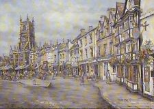 Cirencester, Largest Cotswold Market Town, England - United Kingdom Art Postcard