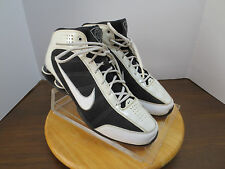 Men's 11.5 M black/white Nike Zoom Air high top basketball athletic shoes 627
