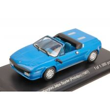 WHITEBOX WB511 LAMBORGHINI JALPA SPYDER PROTOTIPO 1987 BLUE 1:43 DIE CAST MODEL