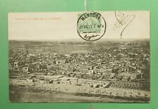 DR WHO 1911 EGYPT MANSURA CAIRO CITADEL POSTCARD TO USA  f95593