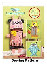 Kwik Sew K224 Ellie Mae Designs PATTERN - Laundry Bags OSZ BN