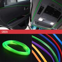 5m Car Flexible Interior Moulding Decorative Strip Trim Line Accessories Green 1