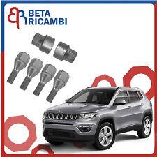 Kit Bulloni Antifurto Per Jeep Compass dal 2017> Ruote In Acciaio O Lega Farad