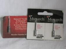 3 Needles Monarch 3020 Regular Fabric Sanitized All Steel Needle