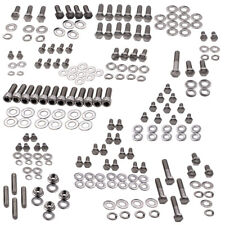 1 Set Stainless Engine Bolt Kit Fit for Chevy 265 283 305 307 327 350 400 Engine