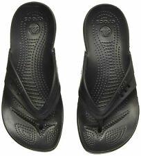 NEW CROCS KADEE WOMENS FLIP-FLOPS / SANDALS 14177-001 BLACK Size 7/10/11