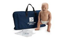 Prestan Dark Skin Infant CPR-AED Training Manikin with Monitor PP-IM-100M-DS