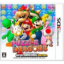 New 3DS PUZZLE AND DRAGON SUPER MARIO EDITION NINTENDO 3DS Japan Import