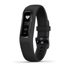 Garmin Vivosmart 4 rastreador de actividad & Fitness-negro con el hardware de medianoche (la