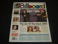 2005 JANUARY 8 BILLBOARD MAGAZINE - EMINEM & U2 FRONT COVER - O 7646