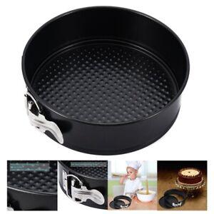 Non-stick Springform Pan Cheesecake Pan,Interlocking Leakproof Baking Cake  U4B3
