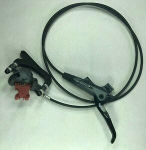 New Avid Elixir 7 Hydraulic Disc Brake Rear Grey 1400mm Hose Post / IS Mount