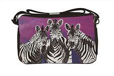 Zebra Messenger Bag - Support  Wildlife Conservation, Read How!