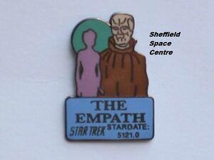 Star Trek The Empath Original Series Episode Pin Badge STPIN7963