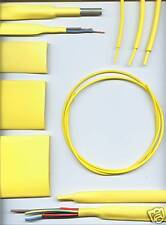 9.5mm YELLOW HEATSHRINK TUBING HEAT SHRINK per metre